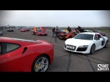 150 Supercars in a Traffic Jam - SCD Secret Meet.