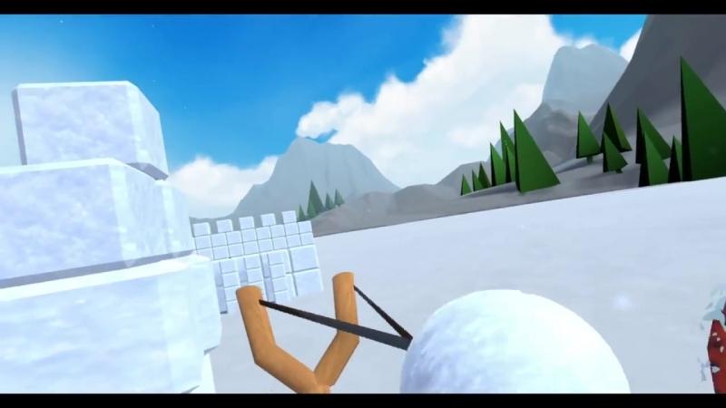 Snow Fortress Trailer HTC Vive