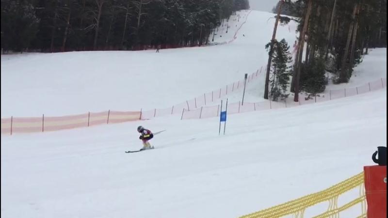 Белорецк Мраткино всероссийские соревнования Веснушки 23.03.2018 слалом-гигант