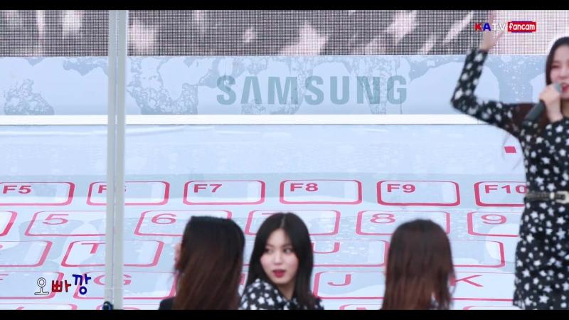 "(4K) CLC 은빈 직캠 "" 도깨비 "" E-Sports 페스티벌 @180512"