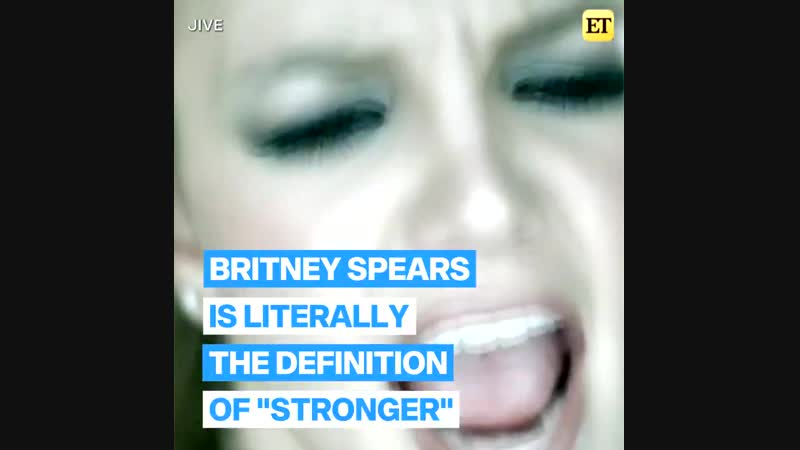 Britney Spears truly is the definition of STRONGER! (Entertainment Tonight, 2019)