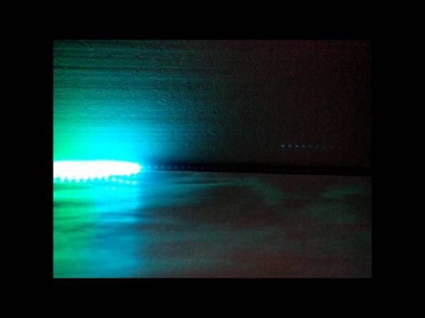 Светодиодная рейка-стробоскоп