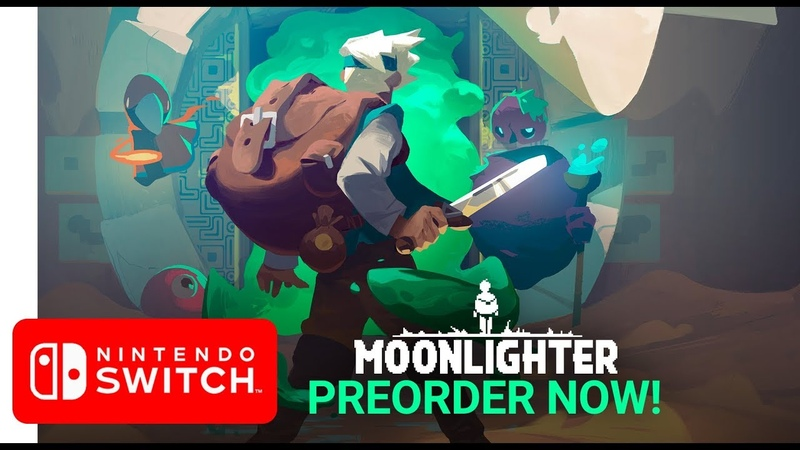 Moonlighter   Nintendo Switch Release Date Trailer