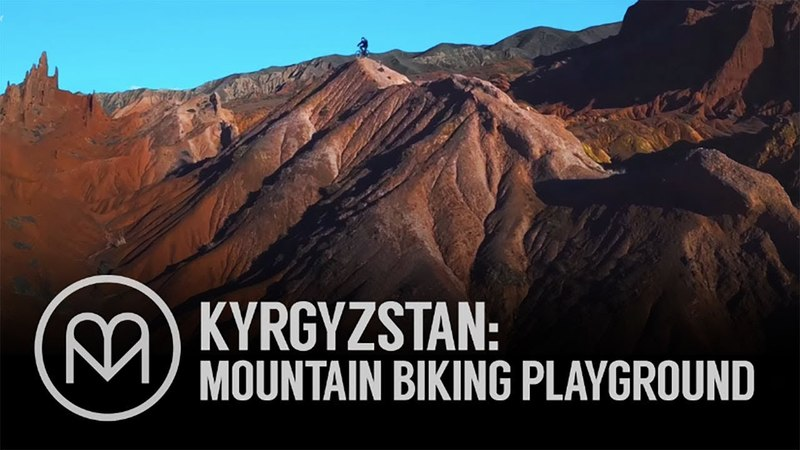Kyrgyzstan's rugged terrain is perfect for mountain biking