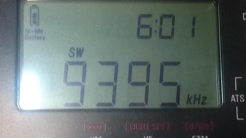 9395kHz-RMI Radio Prague(Okeechobee)(USA)~8426km