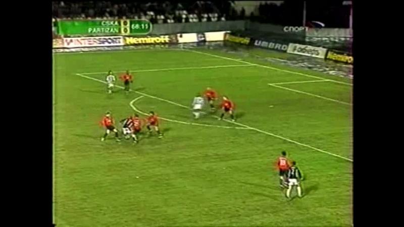 ПФК ЦСКА Москва 2-0 ФК Партизан (Белград). 1/8 финала Кубка УЕФА 2004/2005. Обзор ответного матча