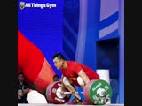 Yang Zhe - рывок 196 килограмм