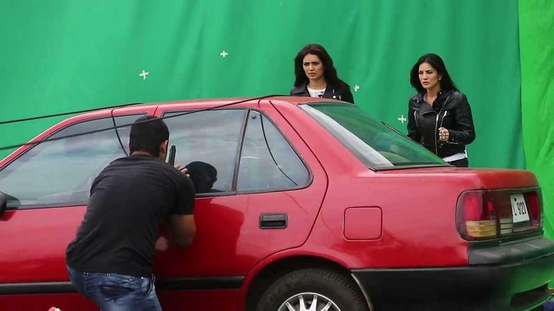 Sunny Leone injured while shooting for the Film Tina and Lolo Sunny Leone Karishma Tanna
