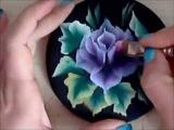 Come dipingere una rosa