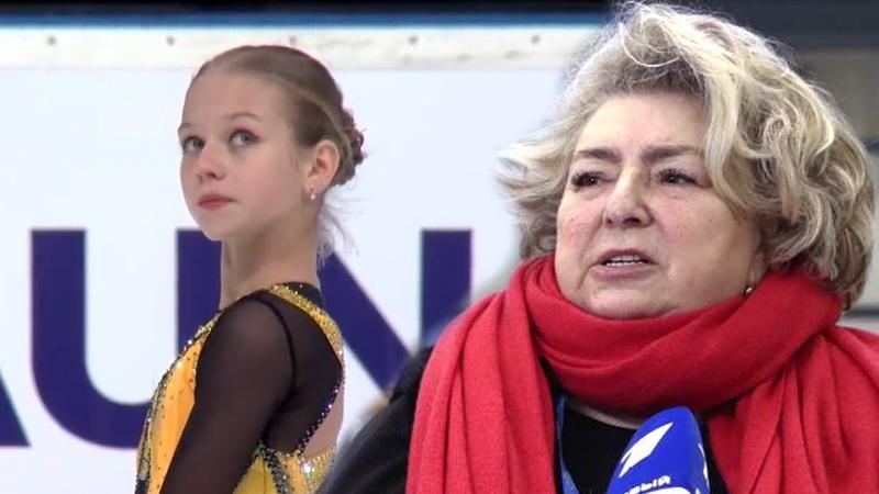 Татьяна Тарасова – о рекорде Трусовой на юниорском Гран-При в Литве.