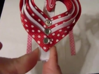 HOW TO_ Make a Layered Valentines Day Heart Clip Tutorial by Just Add A Bow
