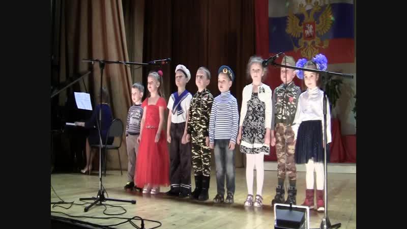 Детсад с.Путилово. Концерт 23 февраля 2019 г.