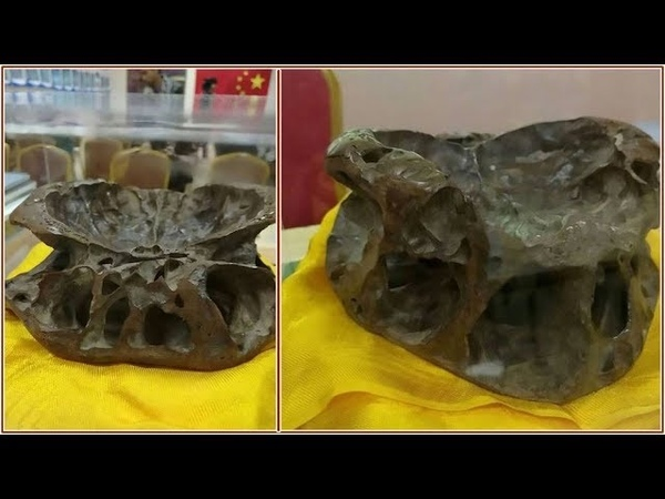 Chinese UFO researcher claims to be in possession of a real ALIEN Skull