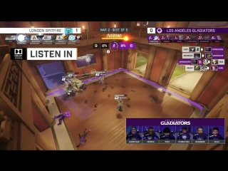 Hear the comms from the LAGladiators quarterfinals match last week against the @Spitfire in this episode of Listen In, brought t