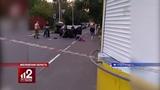 Кулачный бой у алкомаркета! Видео!