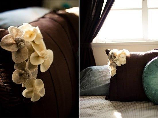 Как сделать декор из фетра