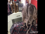 Окрашивание волос + стрижка ☝️экспресс лечение волос