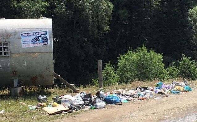 В Зеленчукском районе ликвидировали свалку