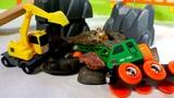 Мультфильм с игрушками Брио - Остров поездов - Обвал на руднике