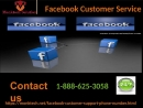 Facebook Customer Service 1-888-625-3058 can be availed in just simple steps