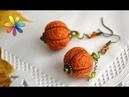 Как изготовить серьги из веревки? Схема плетения! – Все буде добре. Выпуск 794 от 19.04.16