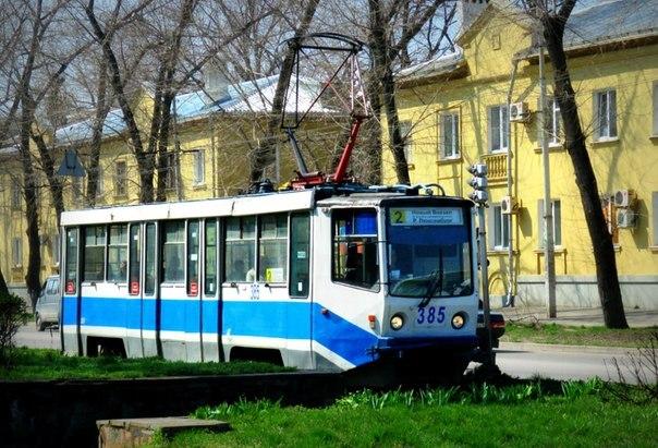 трамвай №2 в Таганроге