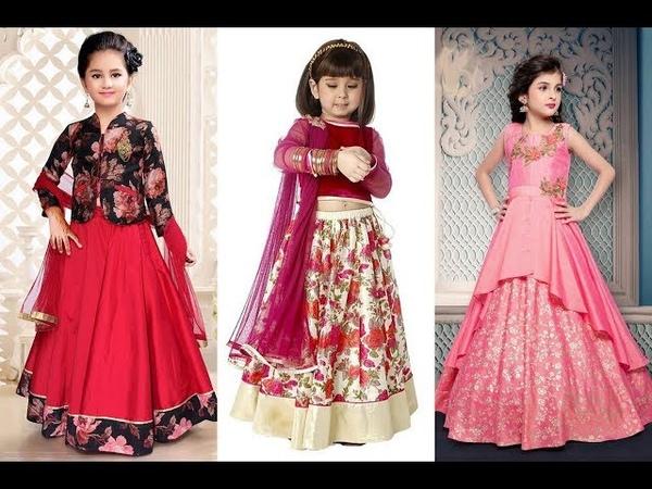 Chaniya choli for kidsLehenga choli designs imageLehenga choli designs for baby girl|Cute lehengas