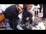 Видео снятое операторами со стороны милиции, взято с сайта МВС.