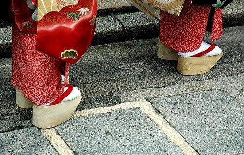 Туфли Гейши