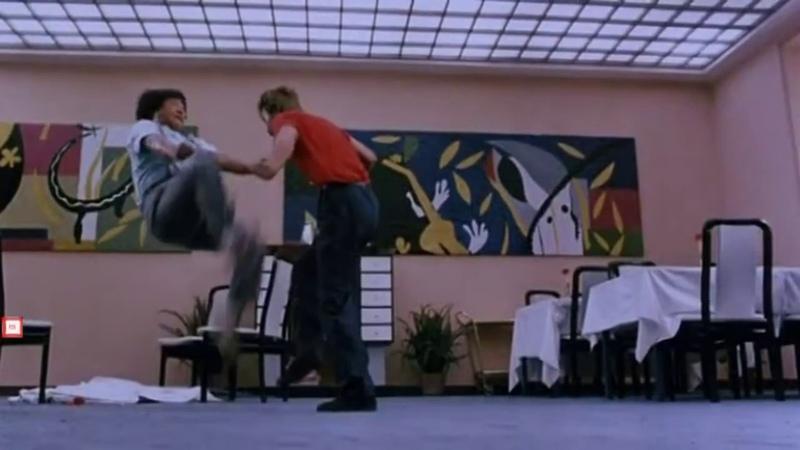 Sammo Hung vs Richard Norton Best Fight Scene TWINKLE TWINKLE LUCKY STARS HD