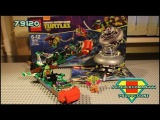 Lego TMNT 79120 T-Rawket Sky Strike Review