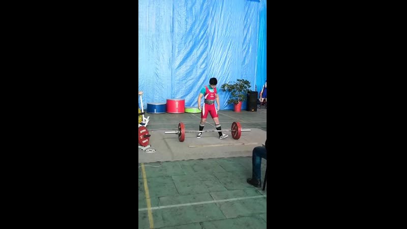 Жакижанов Саламат тяга 180 кг