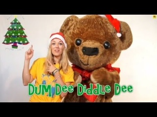 Kids Christmas Songs | Dum Dee Diddle Dee | Tess and Ted | Children Love to Sing...