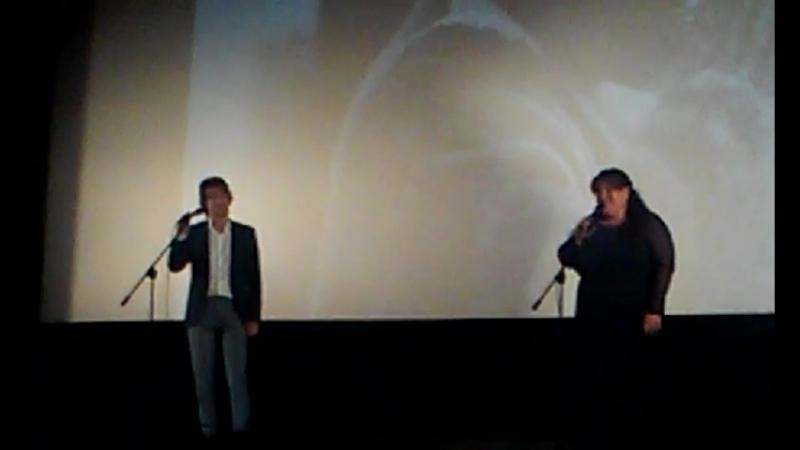 М.Гогитидзе, А.Авдеев - А я иду, шагаю по Москве (Кинотеатр Аврора 1.09.18)