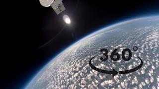 Блогеры запустили камеру 360 в стратосферу