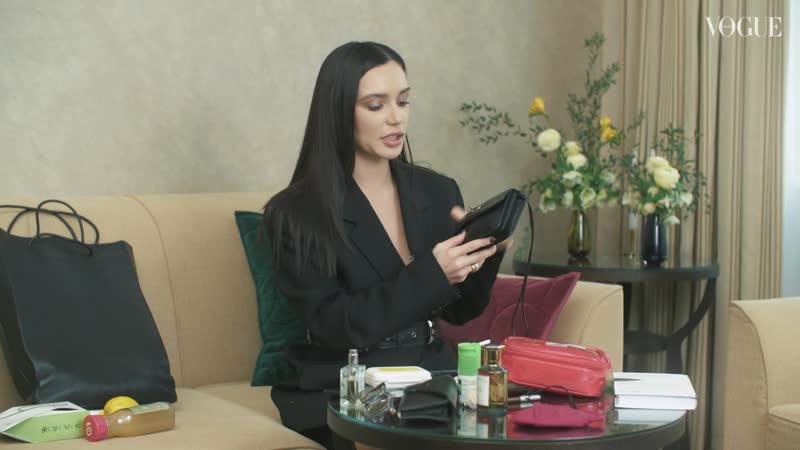 Что в сумке у Ольги Серябкиной