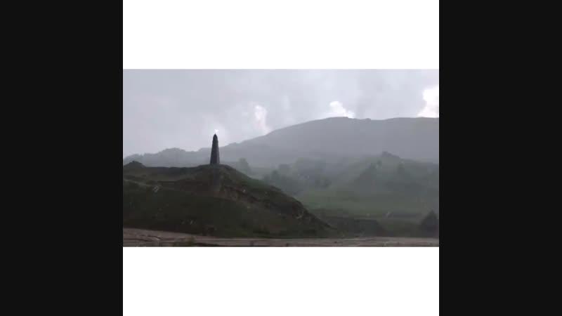 Хотелось остановиться и бесконечно смотреть на это Харачойская башня Веденский район Необыкновенная загадочная Чечня