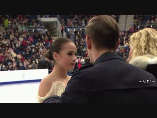 Alina ZAGITOVA - SP - 2019 European Championships