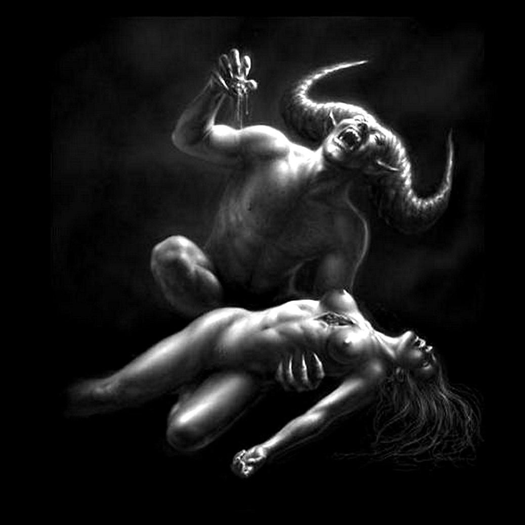 Demon impregnation pics exposed tube