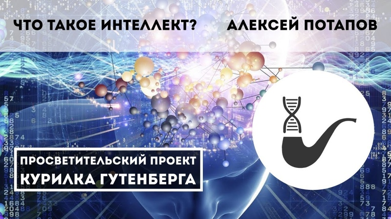 Что такое интеллект или о вреде биологической метафоры для области ИИ Алексей Потапов