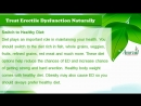 How to Treat Erectile Dysfunction Naturally by Best Diet, Massaging Oil?