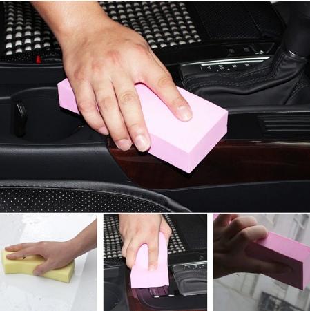 Губка из уникального полимерного материала обладающая высокими впитывающими свойствами После того как ее смочить в воде