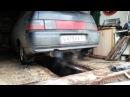 Ваз 2112 Subaru Sound коллектор прямоточный глушитель
