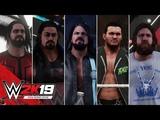 WWE 2K19 Entrances AJ Styles, Strowman, Reigns, Bryan, Seth Rollins, Nakamura, Orton &amp Ambrose