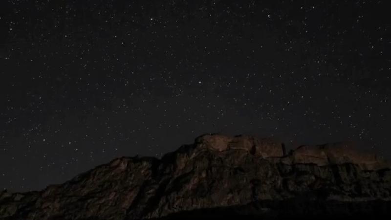 Ночное небо. Красота.