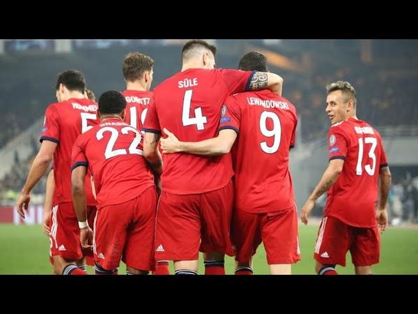АЕК 0:2 Бавария обзор