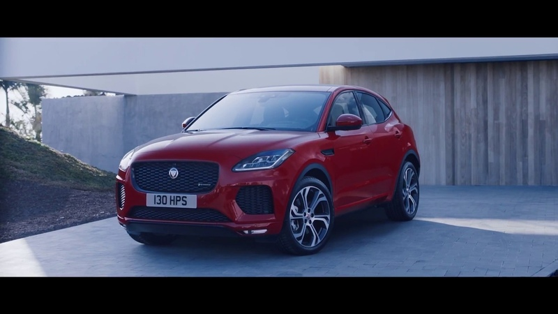 Jaguar Представляем новый E PACE