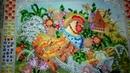 Петушок садовник от Абрис Арт Вышивка Бисером