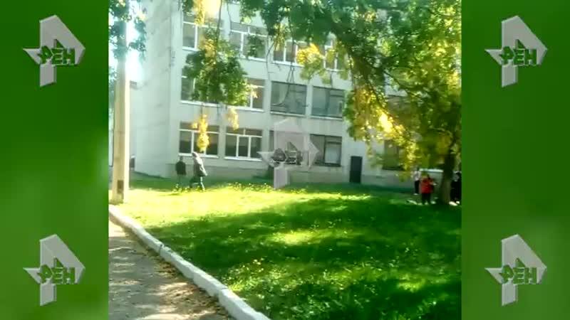 Видео из Керчи, на котором, предположительно, слышны звуки взрыва и стрельбы