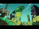 Футурама в Симпсонах 1 Бендер хочет убить Гомера!